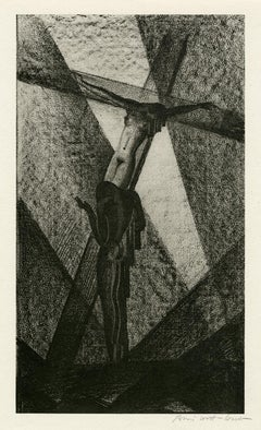 Untitled (Nude Crucified)