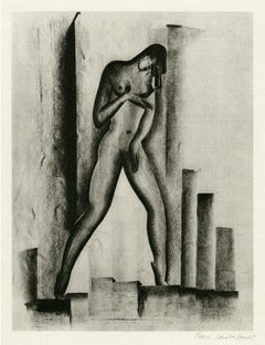 Untitled (Nude with Buildings)