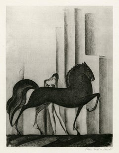 Untitled (Nude with Horse)