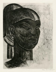 Untitled (Portrait of an African Woman)
