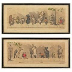 Boris O'Klein Dogs of Paris Etchings