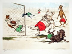 Canine Soccer Match