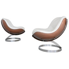 Boris Tabacoff Sphere lounge chairs Mobilier Modulair Moderne, France, 1971