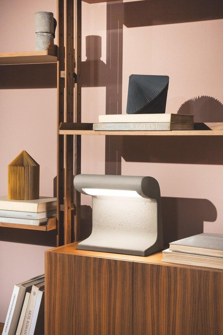 Mid-Century Modern Borne Bétone Petite Table Lamp by Le Corbusier For Sale