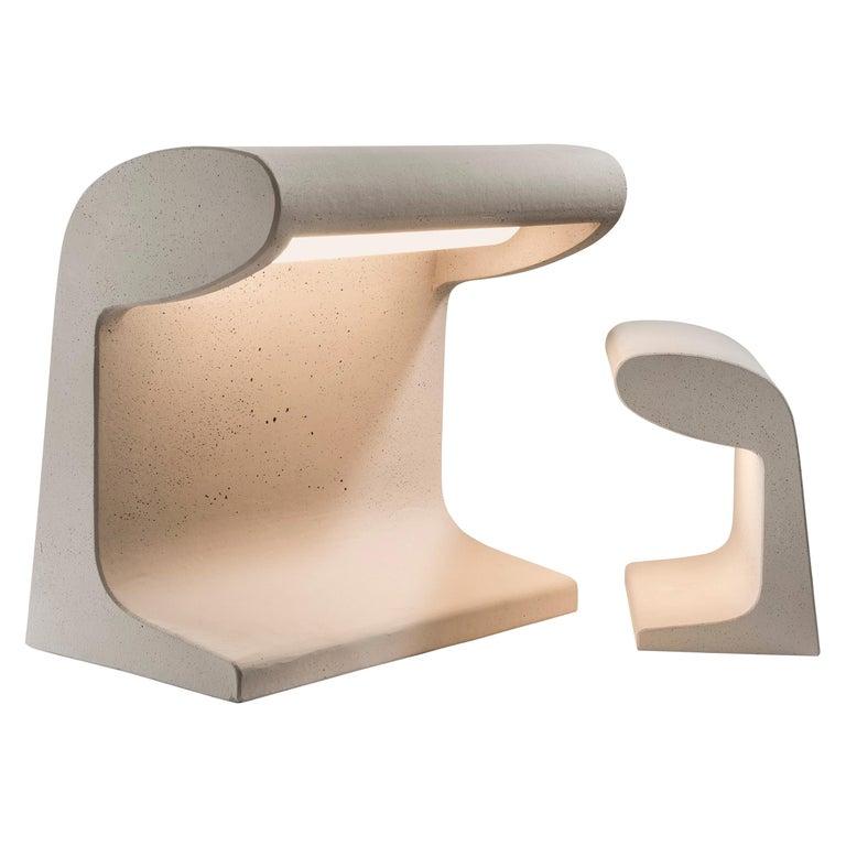 Borne Bétone Petite Table Lamp by Le Corbusier For Sale