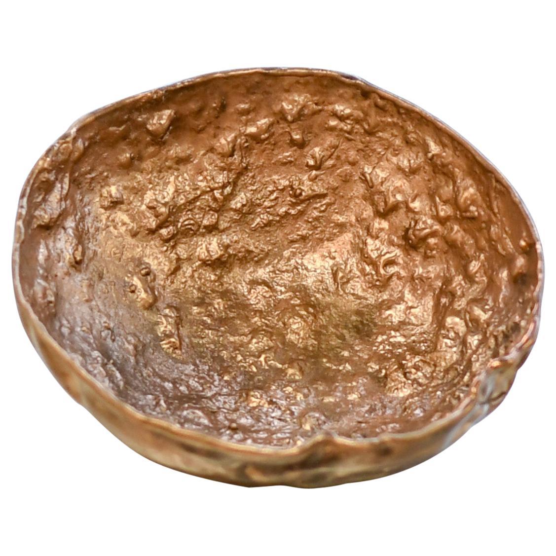 Borrowed Form #6, Cast Silicon Bronze Vessel