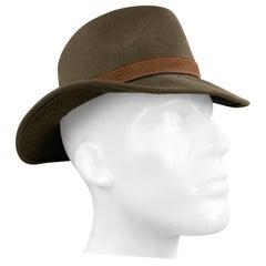 BORSALINO Marco Olive Water Repellent Felt Hat
