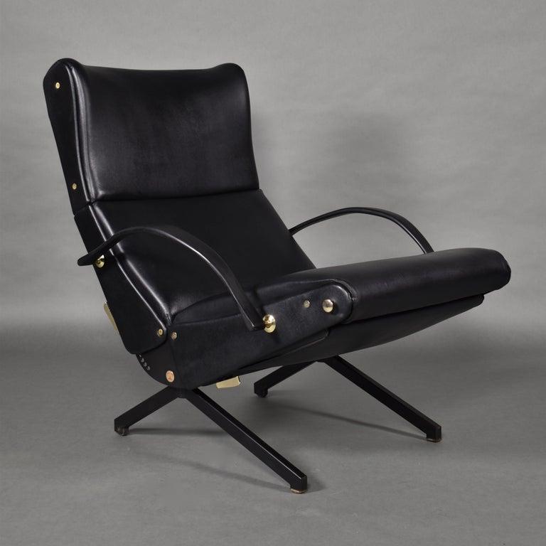 Mid-Century Modern Borsani P40 Lounge Chair for Tecno, Italy, circa 1970 For Sale