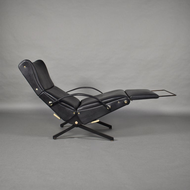 Borsani P40 Lounge Chair for Tecno, Italy, circa 1970 In Good Condition For Sale In Pijnacker, Zuid-Holland