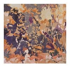 Bosco Rosa Wallpaper by Elena Carozzi