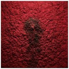 Bosco Sodi Contemporary Mixed-Media on Canvas Red Artwork, 2012