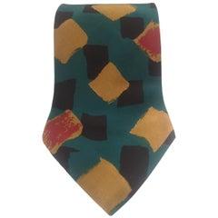 Boss Vintage multicoloured silk tie