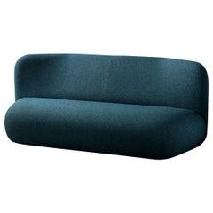 Botera Upholstered Ultramarine Blue Sofa by E-GGS