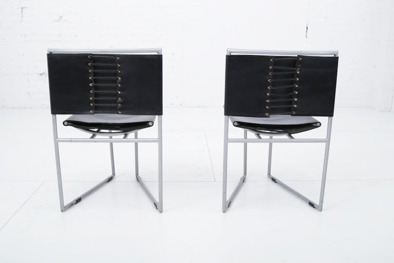 Post-Modern Botta 91 Chairs by Mario Botta for Alias, 1991 For Sale