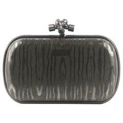 Bottega Veneta 50th Anniversary Limited Edition The Knot Sterling Silver Clutch