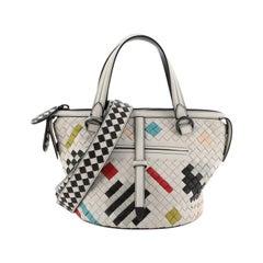 Bottega Veneta Abstract Tambura Bag Intrecciato Nappa