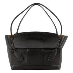 Bottega Veneta Arco Bag Maxi Intrecciato Leather Large