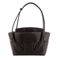Bottega Veneta Arco Bag Maxi Intrecciato Leather Small