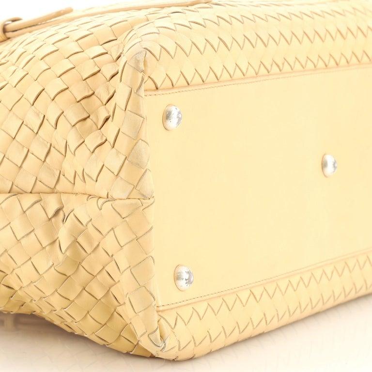 Women's Bottega Veneta Belted Cabat Tote Embroidered Intrecciato Nappa For Sale
