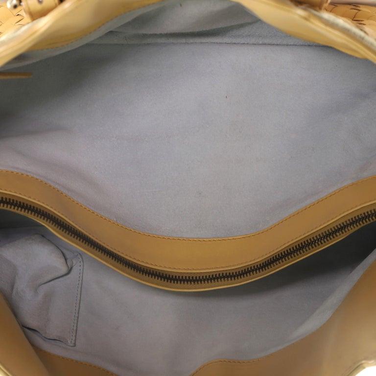 Bottega Veneta Belted Cabat Tote Embroidered Intrecciato Nappa For Sale 4