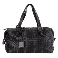 BOTTEGA VENETA black MONTAIGNE LIMITED EDITION Shoulder Bag