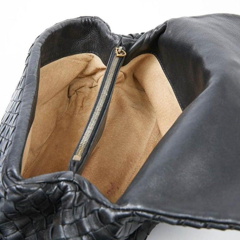 BOTTEGA VENETA Braided Leather Clutch For Sale 5