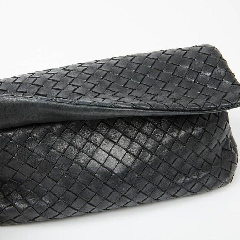 BOTTEGA VENETA Braided Leather Clutch For Sale 1