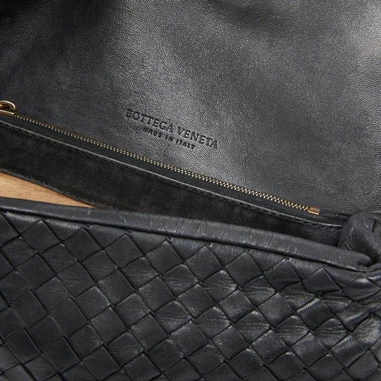 BOTTEGA VENETA Braided Leather Clutch For Sale 2