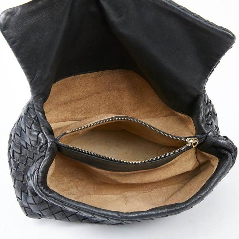 BOTTEGA VENETA Braided Leather Clutch For Sale 3