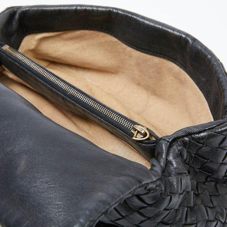 BOTTEGA VENETA Braided Leather Clutch For Sale 4