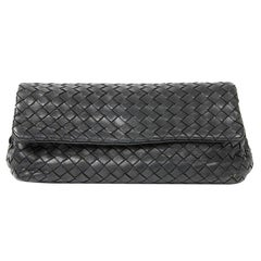 BOTTEGA VENETA Braided Leather Clutch