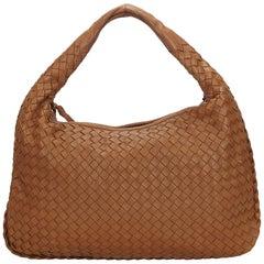 Bottega Veneta Brown Intrecciato Hobo Bag