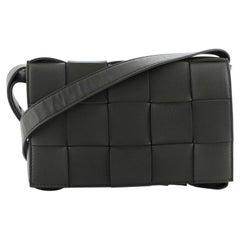 Bottega Veneta Cassette Crossbody Bag Maxi Intrecciato Leather