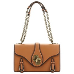 Bottega Veneta City Knot Flap Bag Leather