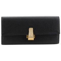 Bottega Veneta Continental Wallet Textured Leather Long
