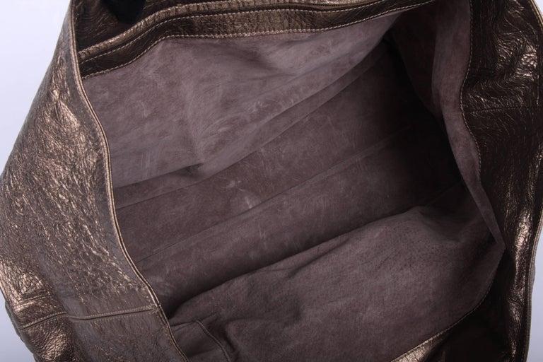 1stdibs Bottega Veneta Metallic Bronze Corded Wave Shopping Tote XHUq6