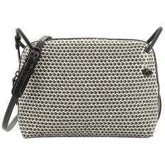 Bottega Veneta Crossbody Bag Printed Intrecciato Nappa Small