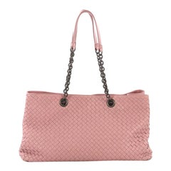 Bottega Veneta Double Chain Tote Intrecciato Nappa Large