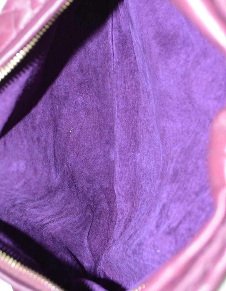 Bottega Veneta Eggplant Purple Woven Nappa Intrecciato Medium Veneta Hobo Bag 1
