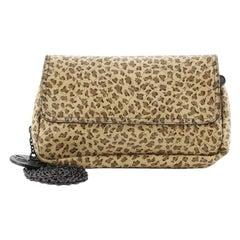 Bottega Veneta Expandable Chain Crossbody Bag Intrecciomirage Leather Small