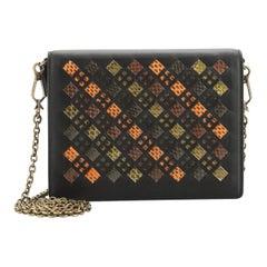 Bottega Veneta Flap Wallet on Chain
