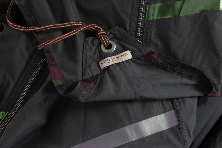 Bottega Veneta Grey Stripe Zipper Gown Runway Spring 2016 For Sale 8