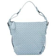BOTTEGA VENETA Handbag in Blue Leather