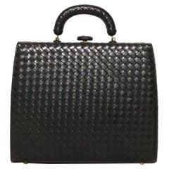 Bottega Veneta Intrecciato Frame Handbag