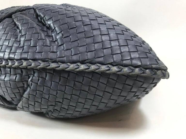 Bottega Veneta Intrecciato Leather Hobo For Sale 1
