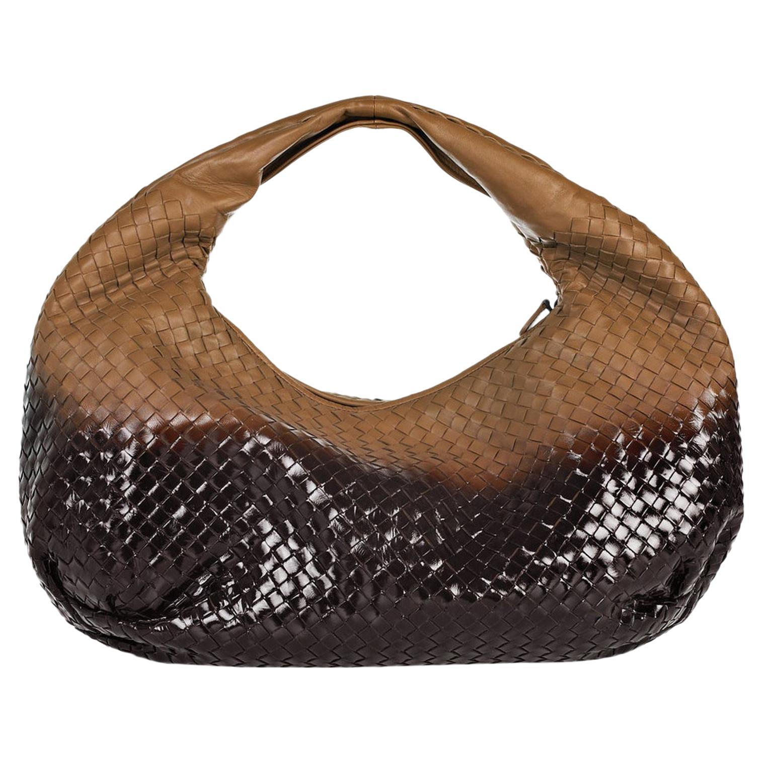 Bottega Veneta Intrecciato Nappa Degrade Hobo Shoulder Bag