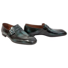 BOTTEGA VENETA IVY CALF LEATHER SHOES for MEN 45 -1 2