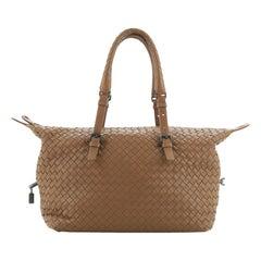 Bottega Veneta Montaigne Handle Bag Intrecciato Nappa Medium