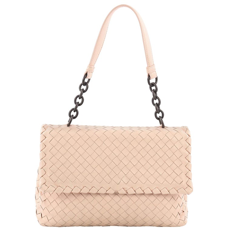 d743b61cd0 Bottega Veneta Olimpia Shoulder Bag Intrecciato Nappa Small For Sale at  1stdibs