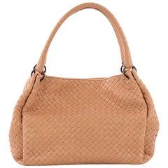 Bottega Veneta Parachute Handbag Intrecciato Nappa Medium